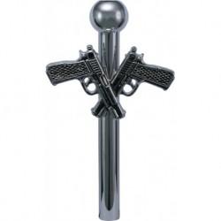 Silver Metal Sniffer Guns...