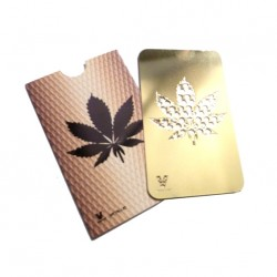 Grinder Card - Gold Leaf