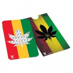 Grinder Card Rasta Leaf