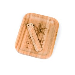 ROLLING TRAY BAMBOO SMALL...