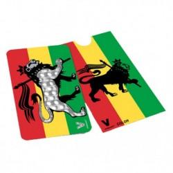 Rasta Lion Grinder Card