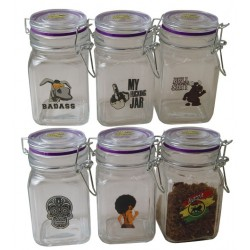 Juicy Glass Jars x 6 - 280ml