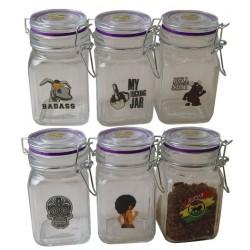Juicy Glass Jars x 6 - 280ml