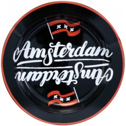 Metal Ashtray - Amsterdam...