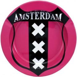 posacenere in metallo Amsterdam XXX pink