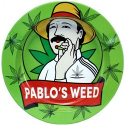 Metal Ashtray - Pablo's...