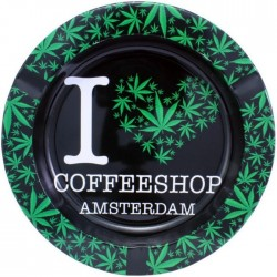 Metal Ashtray - Coffeeshop...