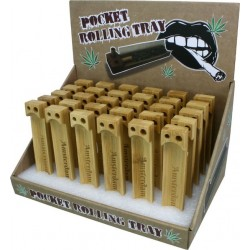 Bamboo Pocket Rolling Tray...