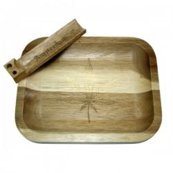 Small Acacai wood Tray -...