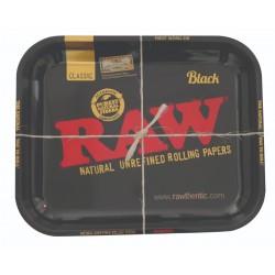 raw nero vassoio per rollare