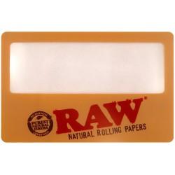 Raw Magnifying Card