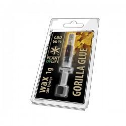 CBD WAX 66% GORILLA GLUE 1ML