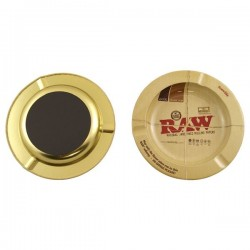 Raw MEtal Ashtray with...