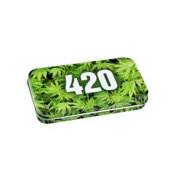 Syndicase Tin Box - 420 Green