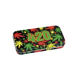 Syndicase Tin Box - 420 Rasta