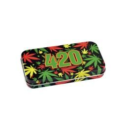 Syndicase Tin Box - 420 Rasta