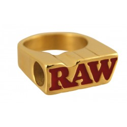 Raw Ring Gold Size 9