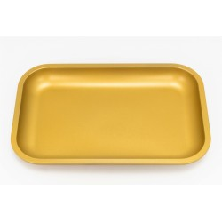 slx non-stick rolling tray made from aluminium with a teflon ceramic coating. Scratch and chip resistant