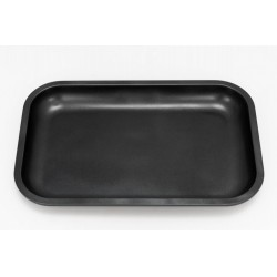 black slx rolling tray made from aluminium alloy with ceramic coating. for wholesale in italy