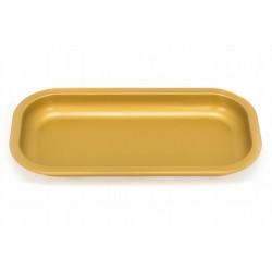 slx yellow rolling tray small size