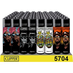 clipper lighters with hip hop designs