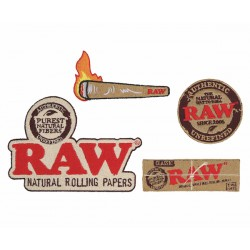 Raw Patches - Set of 4