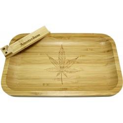 Small Bamboo Tray Cannabis...
