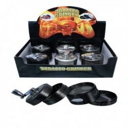 Round herb grinder with...
