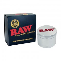 Raw Aluminium Grinder 56mm...