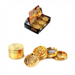 Grinder Metal Gold 52mm 4...