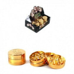 Grinder Metallo Oro 3 Parti...