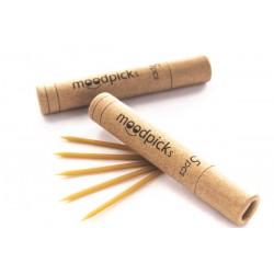 cbd moodpicks, cbd concentrato in uno stuzzicadenti da inserire all'interno delle sigarette. Scatola da 5 unità vendute in un e