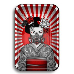 Fireflow rolling tray with Geisha design for wholesale