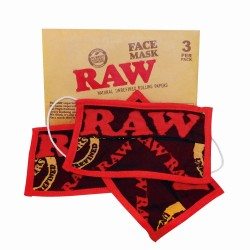 Raw Face Mask - Pack of 3