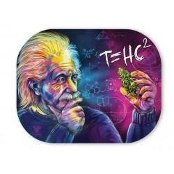 V-Syndicate coperchio per vassoio di rollare con disegno di Einstein t=HC2