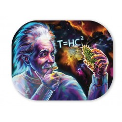 V-Syndicate Metal tray cover with Einstein 'Black hole'' design