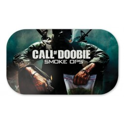v-syndiacte magnetic tray cover with call of doobie design. Fits medium size trays