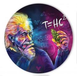 slikks v-syndicate dab mat with Einstein artwork. For wholesale only