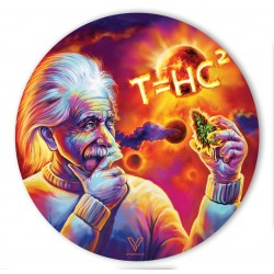 v-syndicate slikks dab mat made from heat-proof silicone with Einstein Solar Diesel design