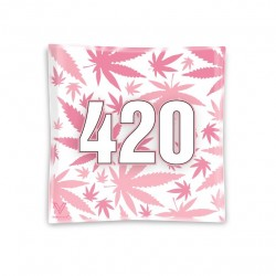v-syndicate glass ashtray pink 420