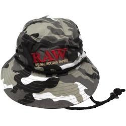 Raw Smokerman's Hat Camo -...
