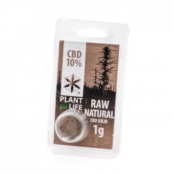 plant of life natural cbd solid hash 10% for wholesale only