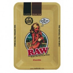 Raw Rolling Tray Girl -...