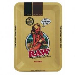 Raw Rolling Tray Girl -...