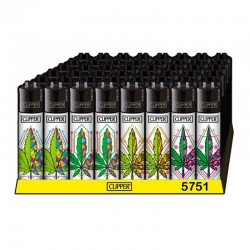 geometric leaves clipper lighters wholesale