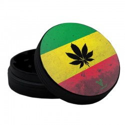 v-syndicate sharpshred rasta leaf grinder with 2 parts. Online wholesale only