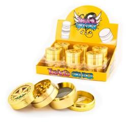 Tritino erba oro in metallo per l'ingrosso ai negozi di canapa