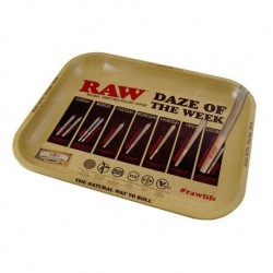 Raw Rolling Tray - Daze