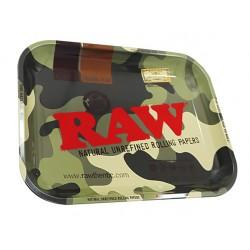raw vassoio per rollare camo medio