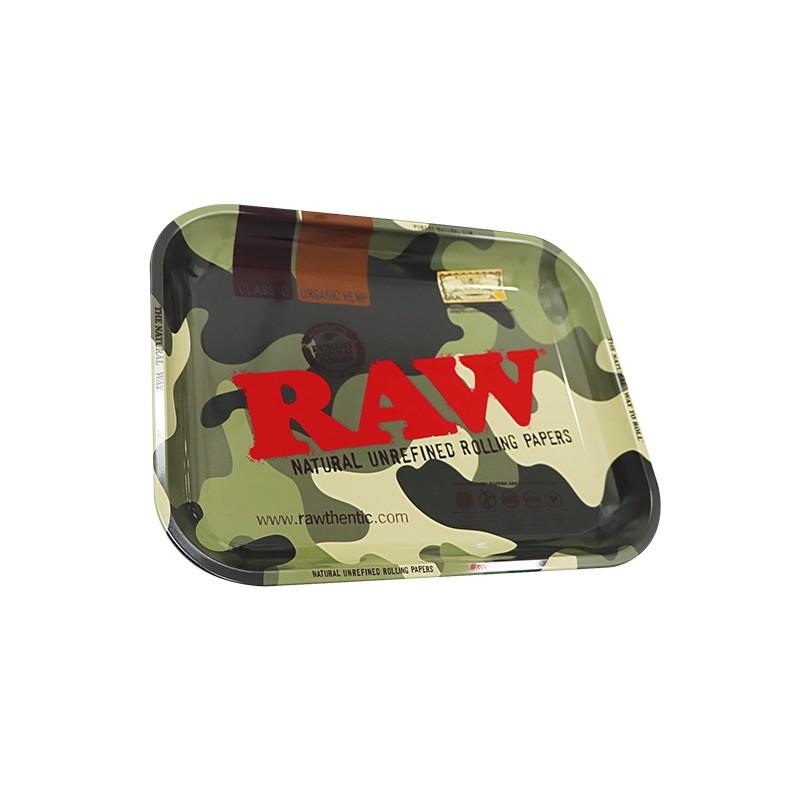 raw smokers rolling tray camo for wholesale